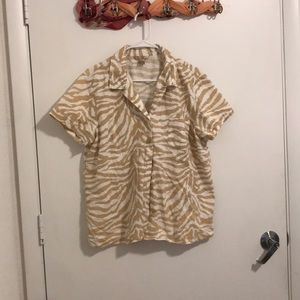 Cotton Button Down Shirt